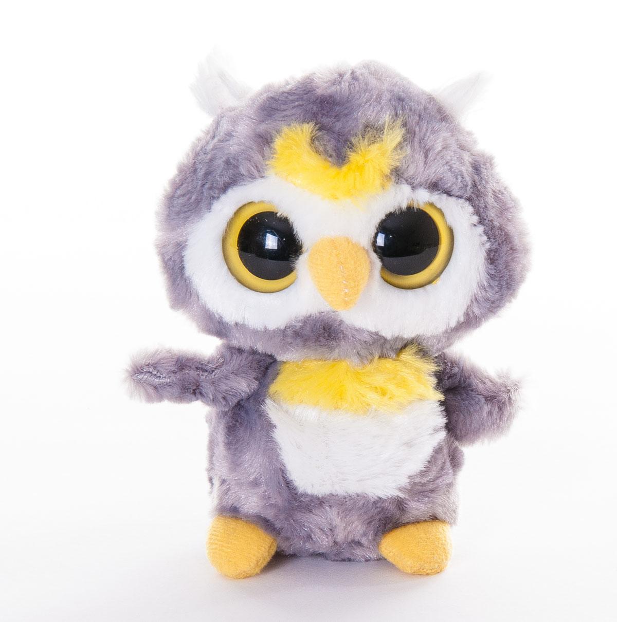 Aurora Мягкая игрушка Сова 12 см12-107Мягкая игрушка - очаровательная сова по имени Луни, одна из персонажей доброго и трогательного мультфильма Юху и его друзья. Мультфильм повествует об отважных зверьках, которые отправляются в опасное приключение, чтобы спасти свою страну - Ютопию. У совы мягкая и приятная на ощупь шерстка, симпатичная мордочка и красивые, выразительные глаза. Игрушку удобно брать с собой на прогулку или в детский сад. Мягкая игрушка Aurora Сова изготовлена из качественных и безопасных материалов. Специальные гранулы, используемые при ее набивке, способствуют развитию мелкой моторики рук малыша.