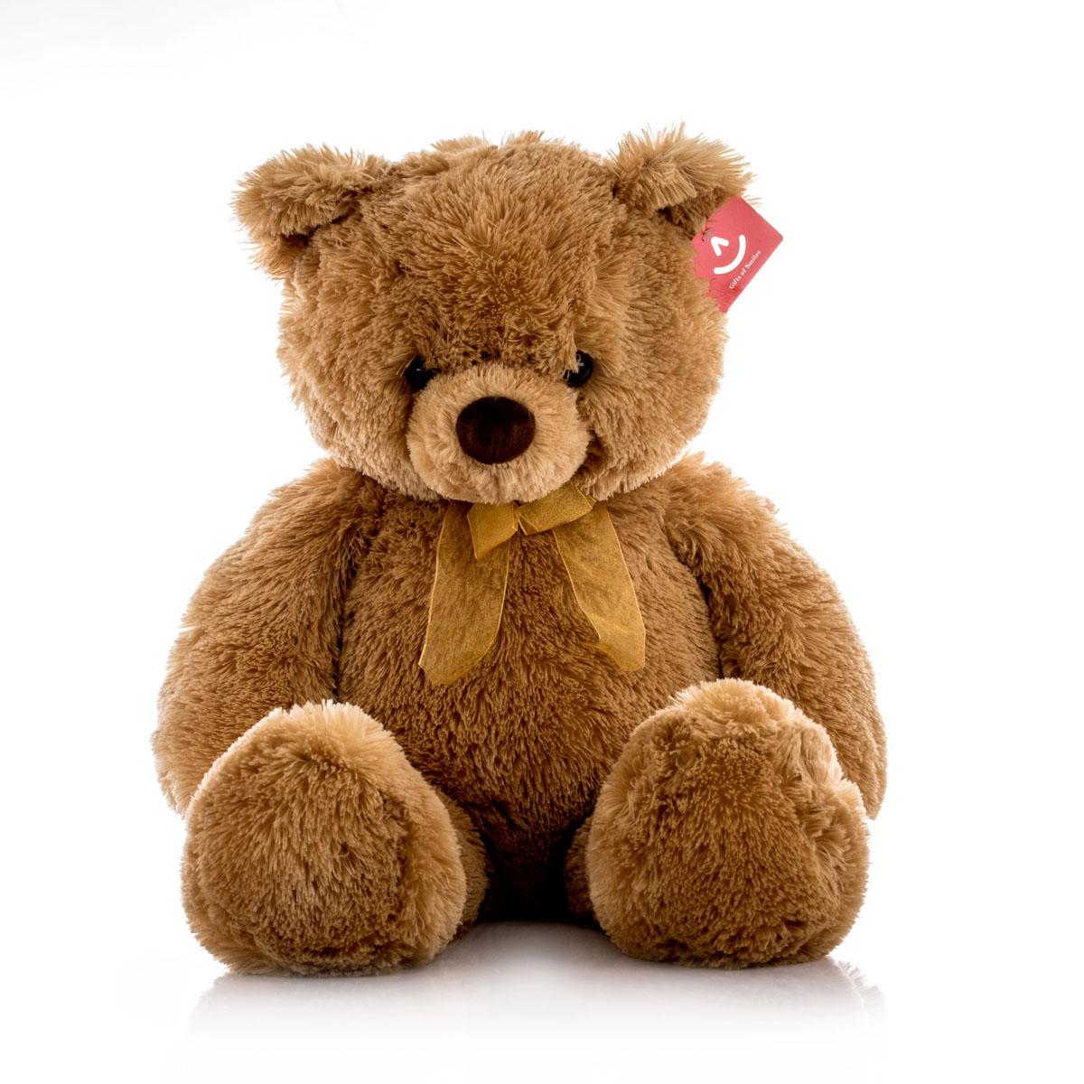 Aurora Игрушка мягкая Медведь 65 см15-322Игрушка Аврора станет замечательным подарком не только для мальчиков и девочек разных возрастов, но и для взрослых. Игрушку можно стирать вручную или в машинке - она не деформируется и не потеряет цвета, шерсть не линяет и не скатывается со временем.