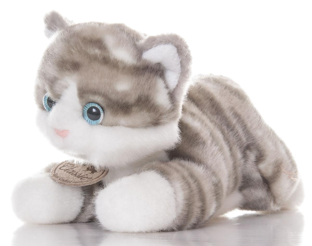 Aurora Игрушка мягкая Котик серый 22 см