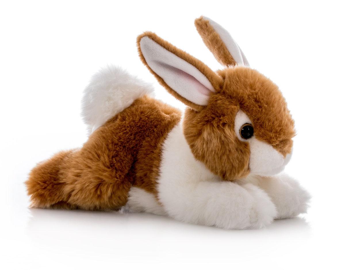 Aurora Игрушка мягкая Кролик коричневый 28 см300-01Игрушка Аврора станет замечательным подарком не только для мальчиков и девочек разных возрастов, но и для взрослых. Игрушку можно стирать вручную или в машинке - она не деформируется и не потеряет цвета, шерсть не линяет и не скатывается со временем.