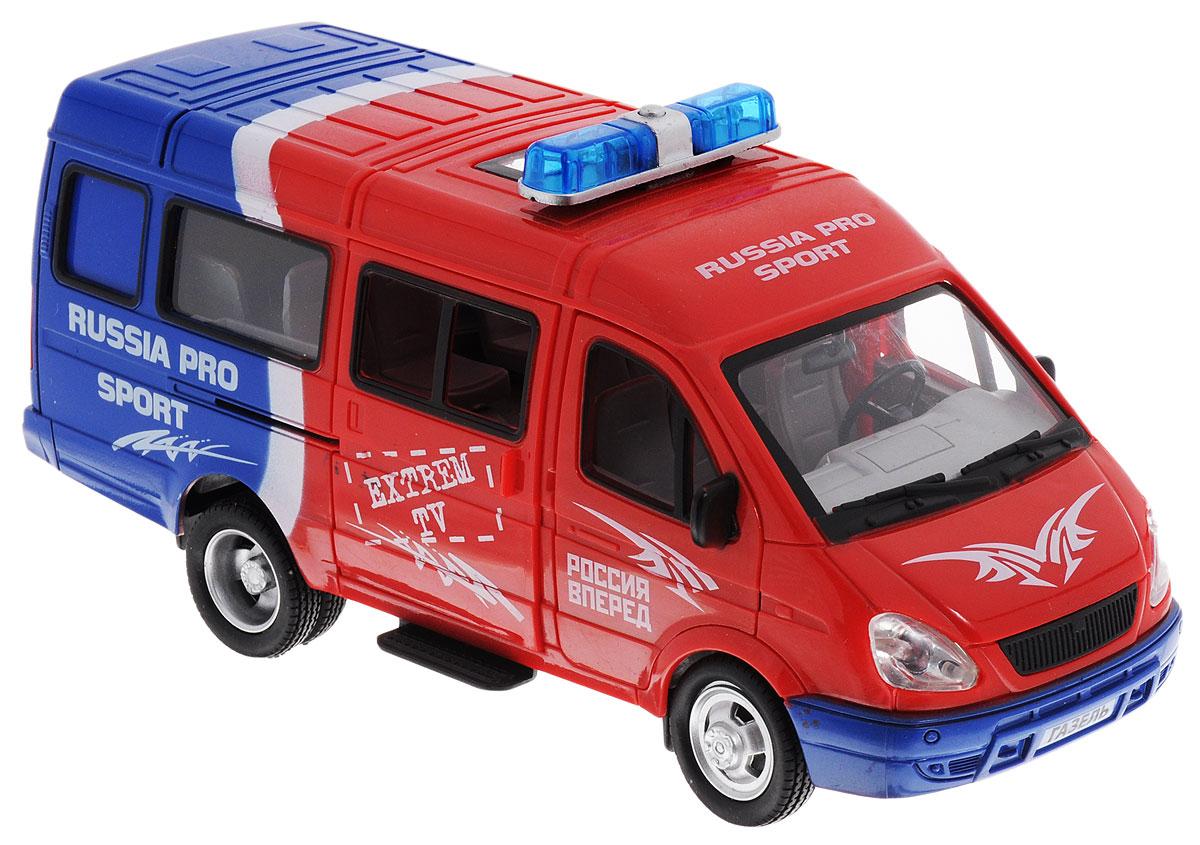 Joy Toy Модель автомобиля Газель Россия вперед