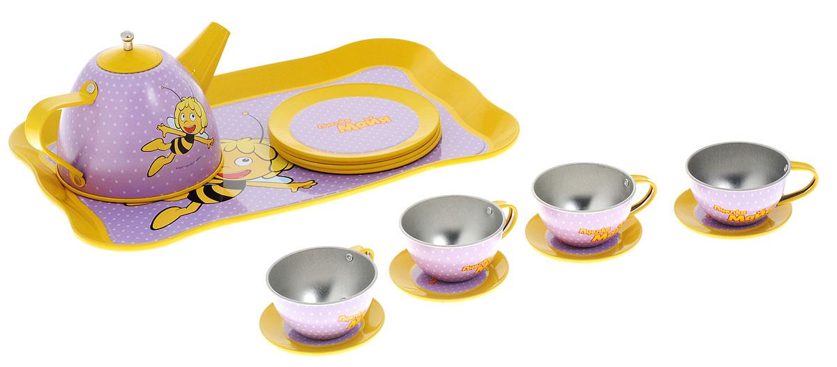 Пчелка Майя Игрушечный набор посуды Чайный сервиз 15 предметов CH1642