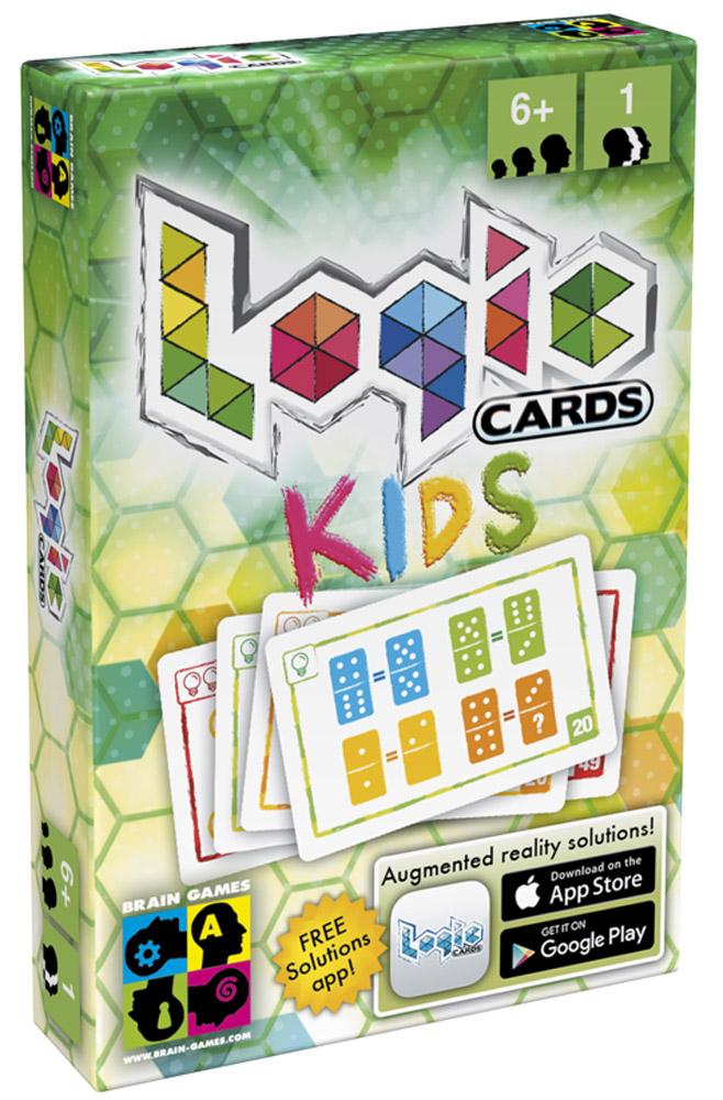 Brain Games Настольная игра Логические карточки для детейTFL201512Может ли сборник логических задач уместиться в кармане? Конечно! Настольная игра Brain Games Логические карточки для детей - это 53 задания на логику на отдельных карточках. Задачи разделены на три уровня сложности - попробуйте решить их все!