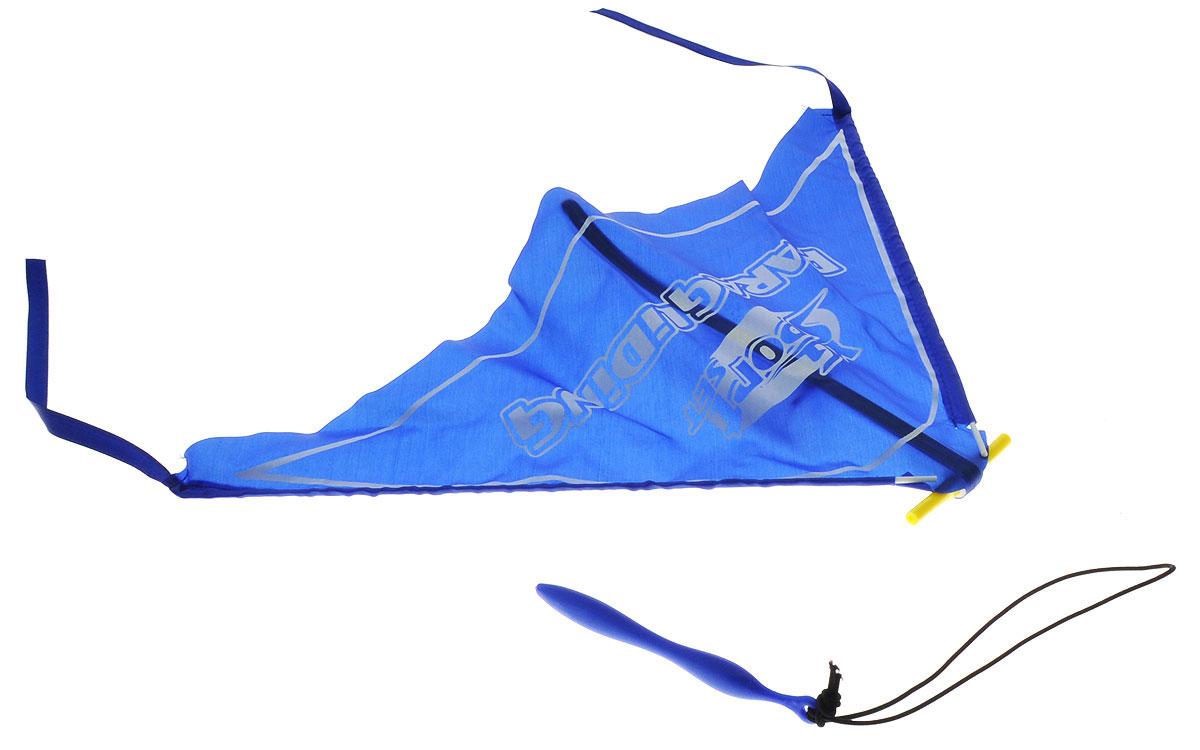 YG Sport Игровой набор Планер цвет синий YG08YYG08YИгровой набор YG Sport Планер - это замечательная игрушка для активных ребят. Набор изготовлен из прочного пластика, имеет очень простую конструкцию, внешне и по принципу работы напоминает воздушного змея. В набор включено пусковое устройство, благодаря которому планер запускается в полет, словно из рогатки. Также к нему цепляется фигурка храброго пилота, выполненная из пластика. Игрушка легкая, компактно складывается для простоты переноски, что очень важно для детишек, которые не сидят на месте ни минуты.