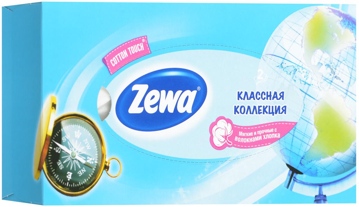 Zewa Платки косметические в коробке