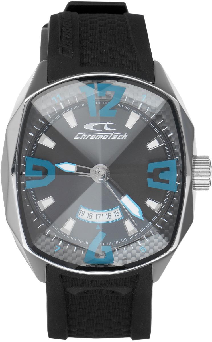 Часы наручные мужские Cronotech, цвет: черный. RW0049RW0049Оригинальные мужские часы Cronotech произведены опытными специалистами из материалов самого высокого качества на базе новейших технологий. Часы оснащены точным кварцевым механизмом. Корпус часов выполнен из нержавеющей стали и защищен минеральным стеклом. Изделие дополнено силиконовым ремешком, оснащенным удобной застежкой-пряжкой, позволяющей максимально комфортно и быстро снимать и одевать часы. Циферблат выполнен в форме алмаза в дорогой огранке, оснащен цифрами и отметками, а также тремя стрелками - часовой, минутной и секундной. Имеется дополнительная функция - индикатор даты и подсветка стрелок. Часы CHRONOTECH подчеркнут мужской характер и отменное чувство стиля их обладателя. Часы укомплектованы в фирменную коробку с названием бренда.