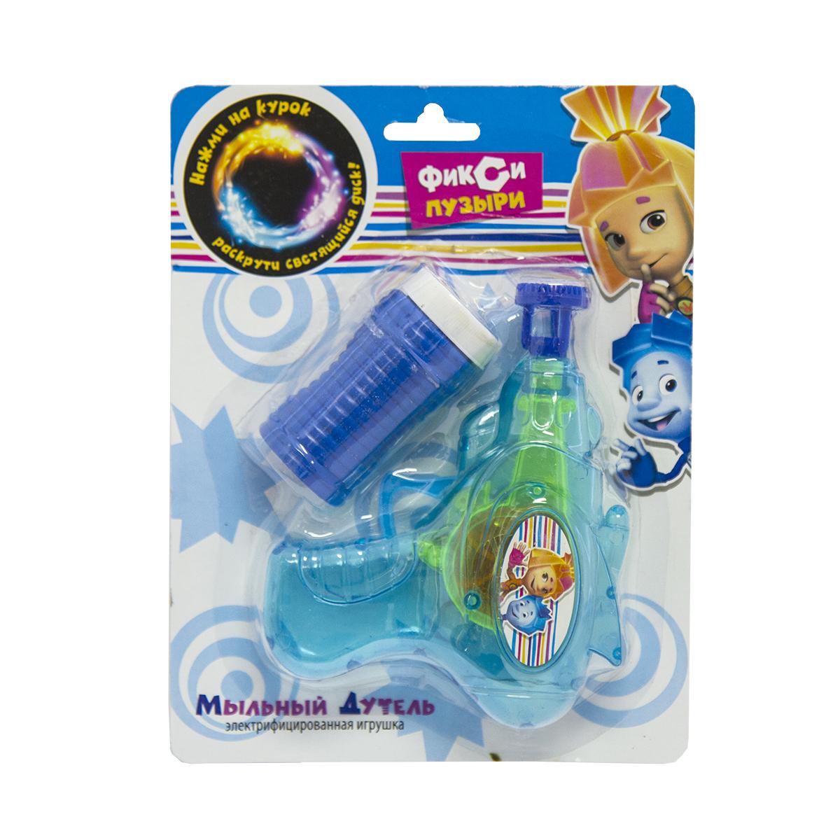 Веселая затея Мыльный Дутель Фиксики светящийся1504-0437Игрушка для пускания мыльных пузырей: пистолет. Инерционныймеханизм - батарейки НЕ требуются! Насадку пистолета нужно опустить вмыльный раствор, и мыльные пузыри получаются одним нажатием на кнопку! Внаборе: пластиковый пистолет, баночка с мыльным раство