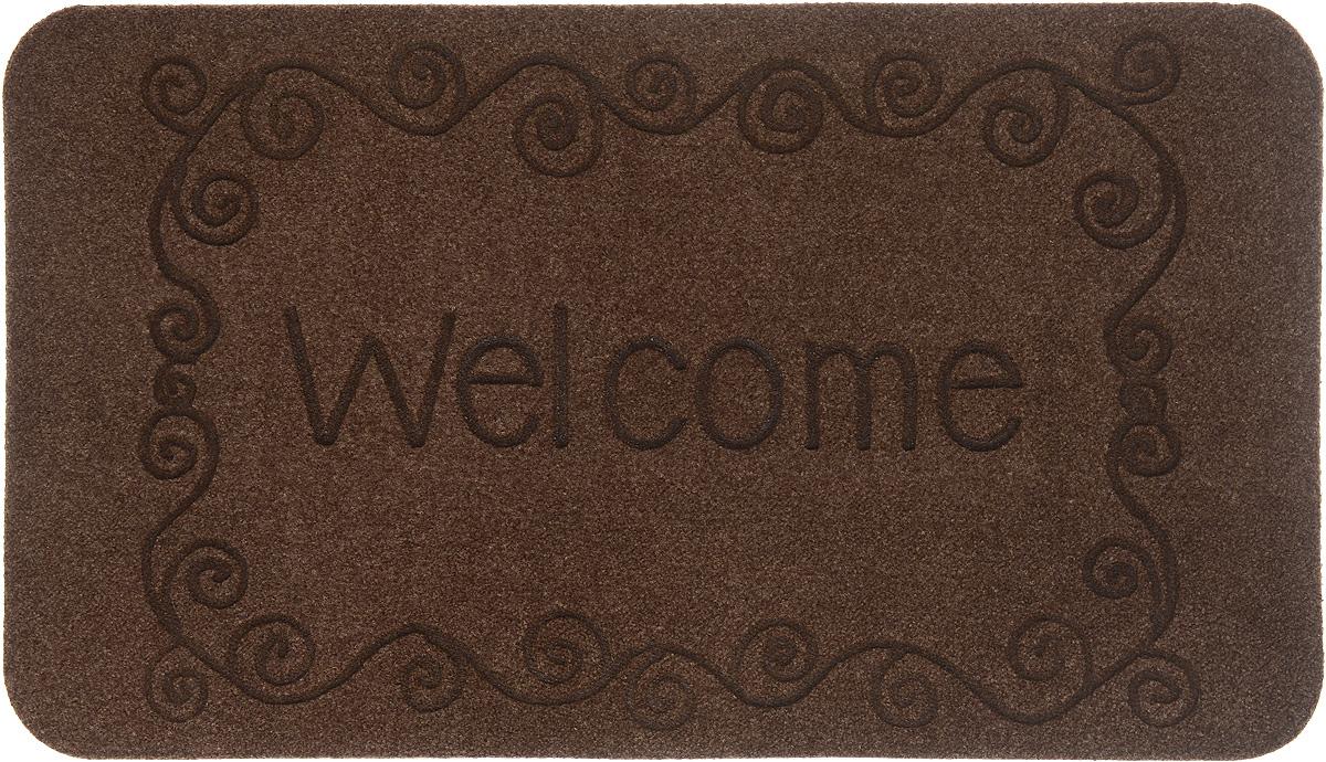 Коврик придверный EFCO Оскар. Завитки, цвет: коричневый, 70 х 40 см13130_коричневыйОригинальный придверный коврик EFCO Оскар. Завитки надежно защитит помещение от уличной пыли и грязи. Изделие выполнено из 100% полипропилена, основа - латекс. Такой коврик сохранит привлекательный внешний вид на долгое время, а благодаря латексной основе, он легко чистится и моется.