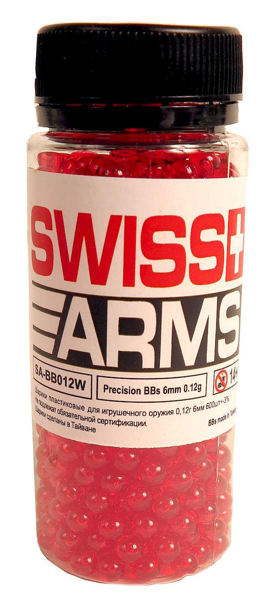 Шарики пластиковые Swiss Arms, 6мм х 0,12 г01106Качественные шлифованые пластиковые шарики калибра 6 мм весом 0.12 гр. Предназначены для использования в пружинном страйкбольном оружии не высокой мощности.