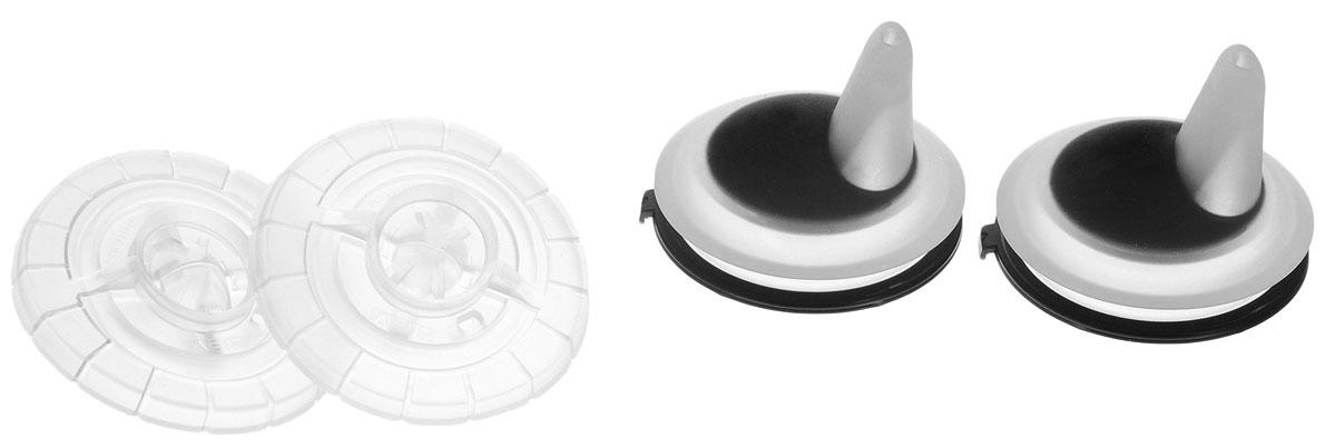 Philips Avent Сменный силиконовый носик для поильника цвет черный 2 шт SCF252/01