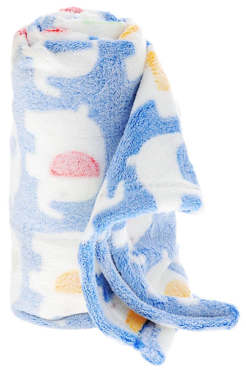 ТМ Коллекция Плед детский Слоники цвет синий 70 х 100 смОПК-100*70/ССДетский плед ТМ Коллекция Слоники согреет малыша в прохладную погоду в кроватке или коляске! Плед порадует вас легкостью, нежностью и оригинальным дизайном! Плед выполнен из 100% полиэстера. Полиэстер считается одним из самых популярных видов материала. Это ткань синтетического происхождения из полиэфирных волокон. Внешне схожа с шерстью, а по свойствам близка к хлопку. Изделия из полиэстера не мнутся и легко стираются. После стирки очень быстро высыхают. Изделие позволяет коже дышать и не вызывает раздражения. Мягкий плед - замечательный аксессуар, который подарит вашему малышу тепло и уют.