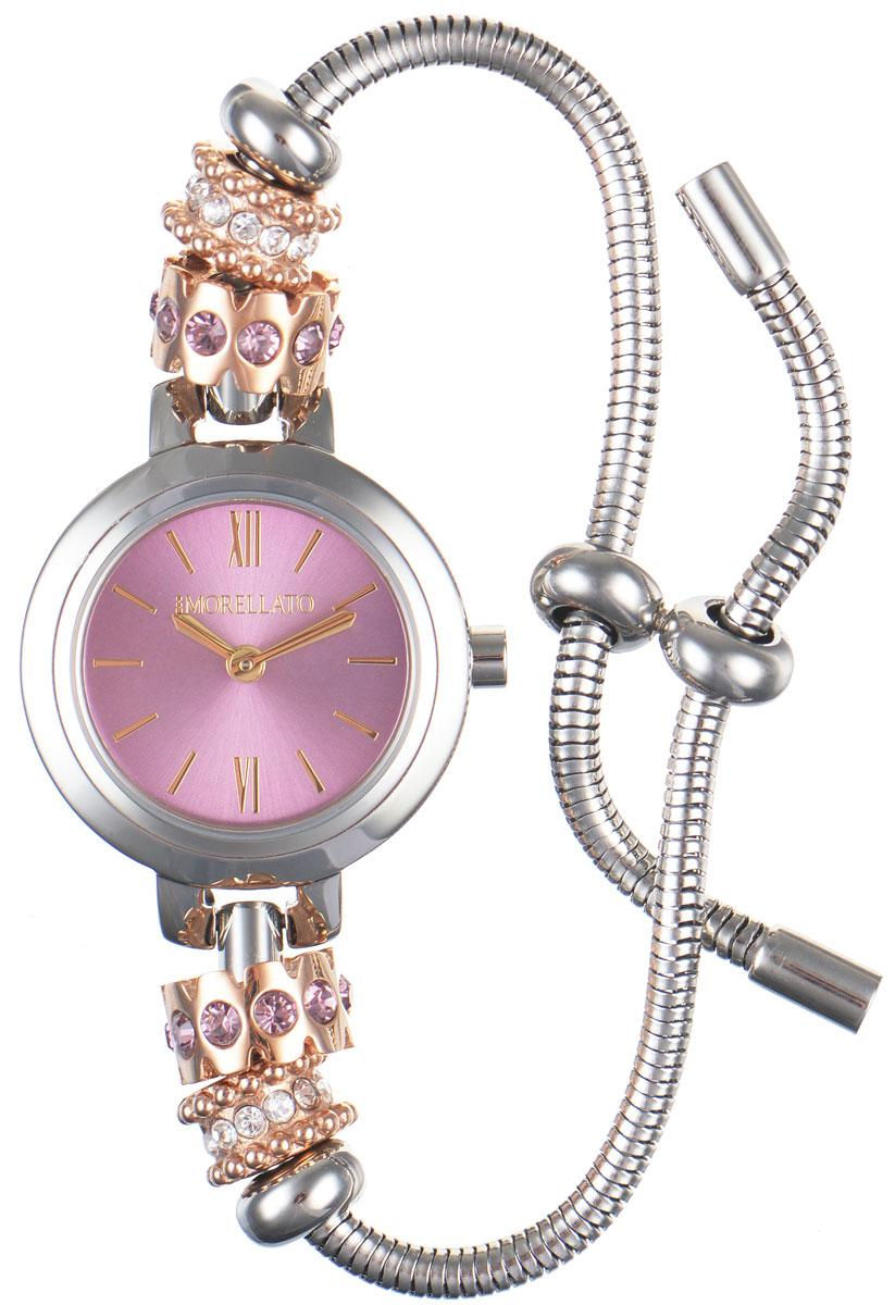 Часы наручные женские Morellato, цвет: серебристый. R0153122550R0153122550Изысканные женские часы Morellato изготовлены из высокотехнологичной гипоаллергенной нержавеющей стали. Ремешок выполнен из нержавеющей стали. Кварцевый механизм имеет степень влагозащиты равную 3 Bar и дополнен часовой и минутной стрелками. Браслет выполнен из соединяющихся между собой элементов в стиле Пандора. Для того чтобы защитить циферблат от повреждений в часах используется высокопрочное минеральное стекло. Браслет затягивается и комплектуется надежным и удобным в использовании замком-шнурком, который позволит с легкостью снимать и надевать часы, менять размер браслета. Часы упакованы в фирменную коробку и дополнительно в подарочную коробку с названием бренда. Часы Morellato подчеркнут изящность женской руки и отменное чувство стиля у их обладательницы.