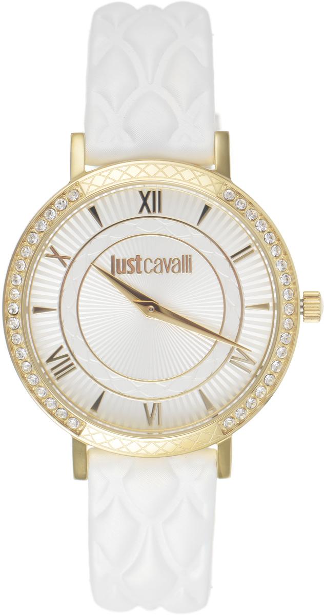 Часы наручные женские Just Cavalli, цвет: белый. R7251527503R7251527503Оригинальные женские часы Just Cavalli выполнены из нержавеющей стали с PVD-покрытием, натуральной кожи и минерального стекла. Изделие дополнено символикой бренда. Корпус часов выполнен из нержавеющей стали с PVD-покрытием, инкрустирован стразами, дополнен минеральным стеклом и имеет степень влагозащиты равную 3 atm. Ремешок дополнен практичной пряжкой, которая позволит моментально снимать и одевать часы без лишних усилий. Часы поставляются в фирменной упаковке. Часы Just Cavalli подчеркнут изящность женской руки и отменное чувство стиля у их обладательницы.