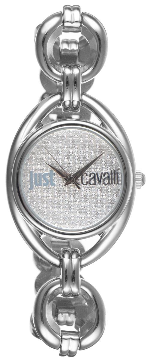Часы наручные женские Just Cavalli, цвет: серебристый. R7253182502R7253182502Наручные женские часы Just Cavalli произведены из материалов самого высокого качества на базе новейших технологий. Они оснащены точным кварцевым механизмом. Корпус часов изготовлен из нержавеющей стали, циферблат защищен минеральным стеклом. Ремешок выполнен из нержавеющей стали и оснащен удобной застежкой-защелкой, которая позволит моментально снимать и надевать часы без лишних усилий. Циферблат круглой формы оснащен тремя стрелками - часовой, минутной и секундной, инкрустирован стразами Swarovski и оформлен названием бренда. Часы являются водостойкими - 3АТМ. Изделие укомплектовано в стильную фирменную коробку с названием бренда. Наручные часы Just Cavalli созданы для современных девушек, которые не желают потерять свою индивидуальность в городской суете. Изящный стиль, дополненный чарующим сиянием кристаллов, придется по вкусу даже самой взыскательной моднице.