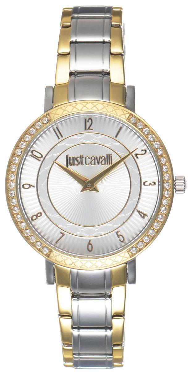 Часы наручные женские Just Cavalli, цвет: серебро, золото. R7253527502