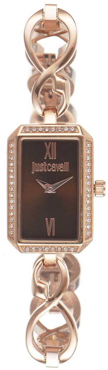 Часы наручные женские Just Cavalli, цвет: золотой. R7253150502R7253150502Изящные женские часы Just Cavalli выполнены из нержавеющей стали с PVD-покрытием и минерального стекла. Изделие дополнено символикой бренда. Корпус часов выполнен из нержавеющей стали с PVD-покрытием. Циферблат дополнен минеральным стеклом, инкрустирован стразами Swarovski и имеет степень влагозащиты равную 3 atm. Ремешок имеет практичную пряжку-защелку, которая позволит моментально снимать и одевать часы без лишних усилий. Часы поставляются в фирменной упаковке. Часы Just Cavalli подчеркнут изящность женской руки и отменное чувство стиля у их обладательницы. Эти изящные часики великолепно дополнят любой ваш вечерний наряд.