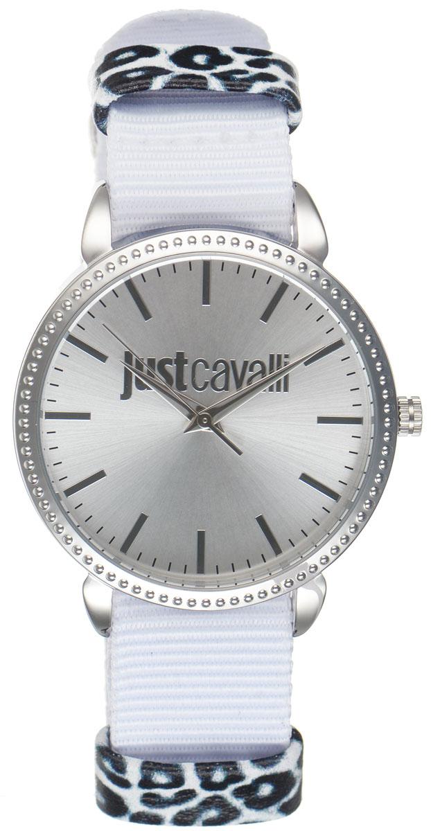 Часы наручные женские Just Cavalli, цвет: белый. R7251528504R7251528504Оригинальные женские часы Just Cavalli произведены из материалов самого высокого качества на базе новейших технологий. Корпус часов выполнен из нержавеющей стали. Циферблат дополнен минеральным стеклом и имеет степень влагозащиты равную 3 atm. Текстильный ремешок имеет практичную пряжку, которая позволит моментально снимать и одевать часы без лишних усилий. Часы поставляются в фирменной упаковке. Наручные часы Just Cavalli созданы для современных девушек, которые не желают потерять свою индивидуальность в городской суете.
