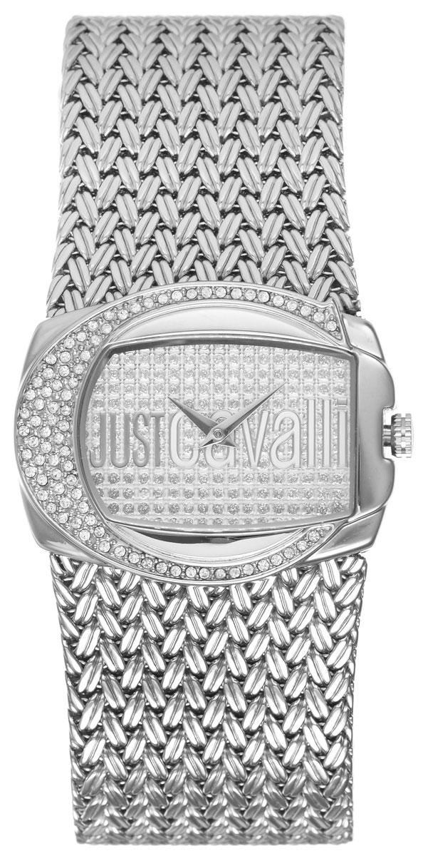 Часы наручные женские Just Cavalli, цвет: серебристый. R7253277545R7253277545Яркие женские часы Just Cavalli выполнены из нержавеющей стали и минерального стекла. Корпус часов выполнен из нержавеющей стали и инкрустирован стразами Swarovski. Циферблат дополнен минеральным стеклом, инкрустирован стразами Swarovski и имеет степень влагозащиты равную 3 atm. Ремешок из нержавеющей стали имеет классическую застежку-пряжку. Часы поставляются в фирменной упаковке. С этими часами Вы не останетесь незамеченной. Привлекательный дизайн, необычная форма корпуса, блеск кристаллов и браслет миланского плетения. Часы Just Cavalli для искушенных модниц.