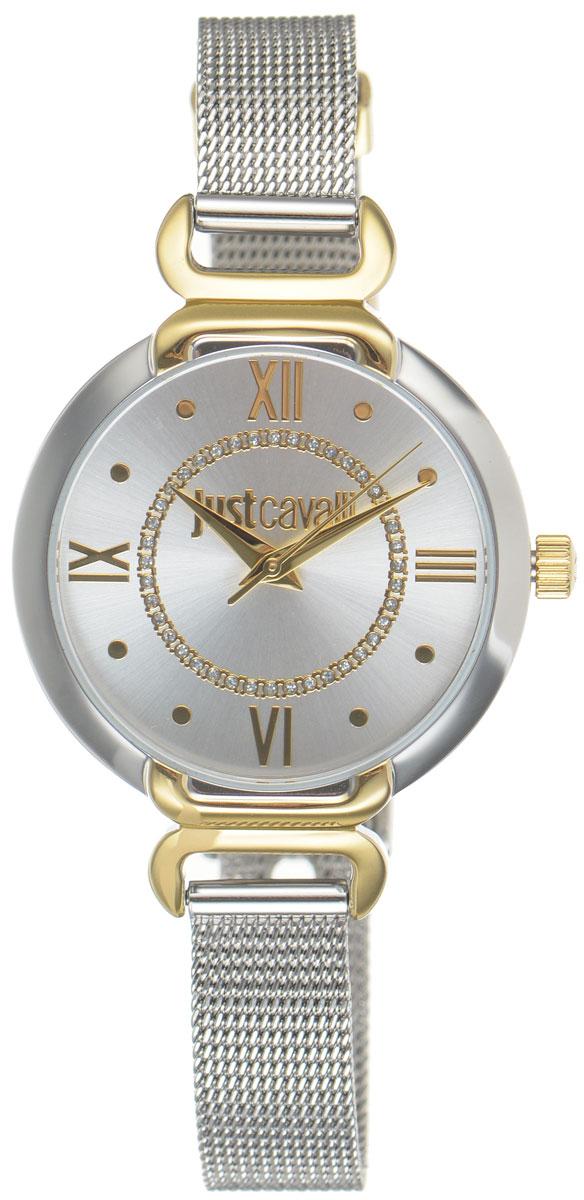 Часы наручные женские Just Cavalli, цвет: серебристый. R7253526502R7253526502Оригинальные женские часы Just Cavalli выполнены из нержавеющей стали с PVD-покрытием и минерального стекла. Изделие дополнено символикой бренда. Корпус часов выполнен из нержавеющей стали с PVD-покрытием. Циферблат дополнен минеральным стеклом, инкрустирован стразами и имеет степень влагозащиты равную 3 atm. Ремешок имеет классическую пряжку. Часы поставляются в фирменной упаковке. Часы Just Cavalli подчеркнут изящность женской руки и отменное чувство стиля у их обладательницы.