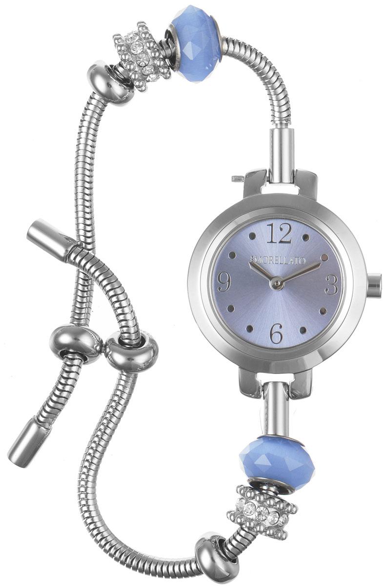 Часы наручные женские Morellato, цвет: серебристый. R0153122548R0153122548Изысканные женские часы Morellato изготовлены из высокотехнологичной гипоаллергенной нержавеющей стали. Ремешок выполнен из нержавеющей стали. Кварцевый механизм имеет степень влагозащиты равную 3 Bar и дополнен часовой и минутной стрелками. Браслет выполнен из соединяющихся между собой элементов в стиле Пандора. Для того чтобы защитить циферблат от повреждений в часах используется высокопрочное минеральное стекло. Браслет затягивается и комплектуется надежным и удобным в использовании замком-шнурком, который позволит с легкостью снимать и надевать часы, менять размер браслета. Часы упакованы в фирменную коробку и дополнительно в подарочную коробку с названием бренда. Часы Morellato подчеркнут изящность женской руки и отменное чувство стиля у их обладательницы.