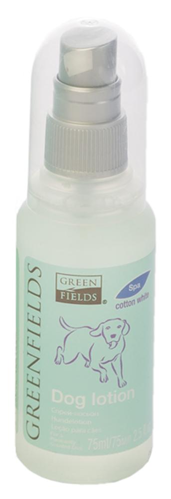 Спрей-лосьон для собак Greenfields Хлопок, 75 мл5060016153133Спрей-лосьон для собак Хлопок Greenfilds для устранения запаха на животном идеально подходит для выставочных и домашних собак! Действует на молекулярном уровне. Создан на основании натуральных компонентов, подаренных самой природой. Гипоаллергенен, не имеет резких запахов. При использовании на шерсти и коже животного устраняет неприятный запах, придаёт и сохраняет приятный аромат в течение длительного времени. Cодержит натуральные дезодорирующие компоненты . Полностью устраняет неприятный запах от животных на молекулярном уровне.
