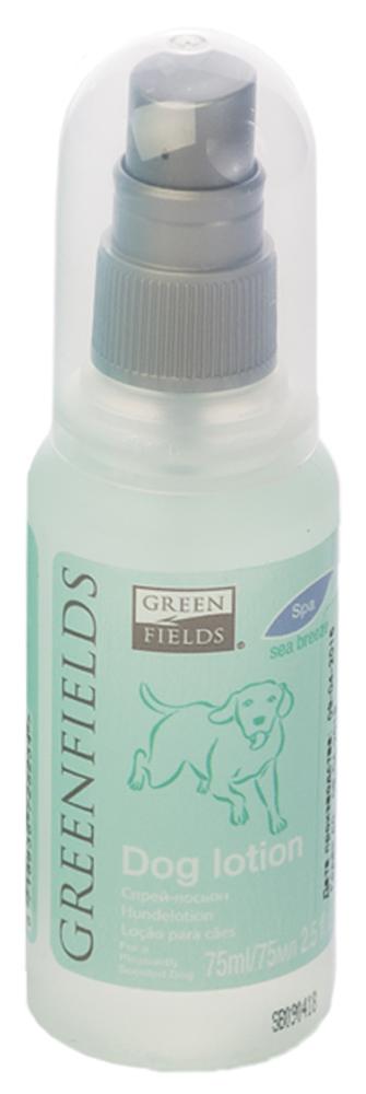 Спрей-лосьон для собак Greenfields Морской бриз, 75 мл5060016153164Спрей-лосьон для собак Морской бриз Greenfilds для устранения запаха на животном идеально подходит для выставочных и домашних собак! Действует на молекулярном уровне. Создан на основании натуральных компонентов, подаренных самой природой. Гипоаллергенен, не имеет резких запахов. При использовании на шерсти и коже животного устраняет неприятный запах, придаёт и сохраняет приятный аромат в течение длительного времени. Cодержит натуральные дезодорирующие компоненты . Полностью устраняет неприятный запах от животных на молекулярном уровне.