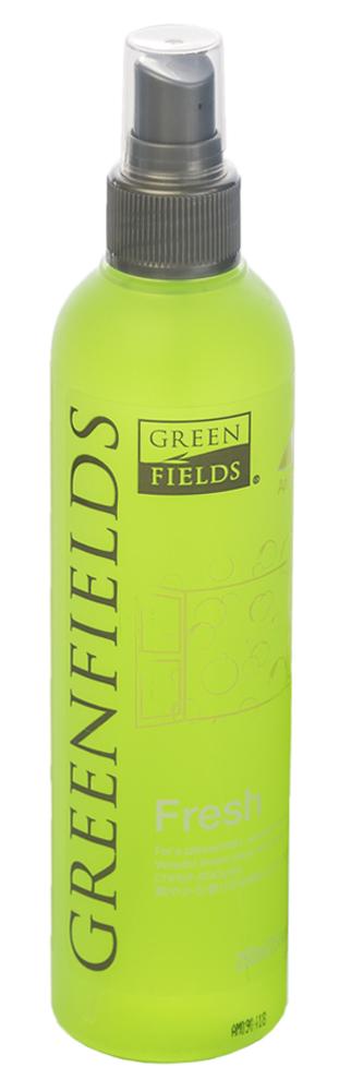 Спрей-лосьон для устранения запаха Greenfields Fresh Яблоко и мята, 250 мл5060016153331Спрей-лосьон Fresh Яблоко и мята Greenfilds для устранения запаха животных, который действует на молекулярном уровне. Создан на основании натуральных компонентов, подаренных самой природой. Гипоаллергенен, не имеет резких запахов. Идеально подходит для устранения запаха в помещении, на тканях, в автомобиле. Придаёт и сохраняет приятный аромат в течение длительного времени, содержит натуральные дезодорирующие компоненты. Подходит для использования как в присутствии животных, так и без. Не оставляет пятнен на тканях и твёрдых поверхностях. Полностью устраняет неприятный запах от животных на молекулярном уровне.