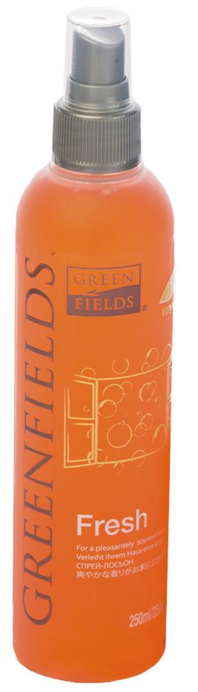 Спрей-лосьон для устранения запаха Greenfields Fresh Вишня, 250 мл5060016153355Спрей-лосьон Fresh Вишня Greenfilds для устранения запаха животных, который действует на молекулярном уровне. Создан на основании натуральных компонентов, подаренных самой природой. Гипоаллергенен, не имеет резких запахов. Идеально подходит для устранения запаха в помещении, на тканях, в автомобиле. Придаёт и сохраняет приятный аромат в течение длительного времени, содержит натуральные дезодорирующие компоненты. Подходит для использования как в присутствии животных, так и без. Не оставляет пятнен на тканях и твёрдых поверхностях. Полностью устраняет неприятный запах от животных на молекулярном уровне.