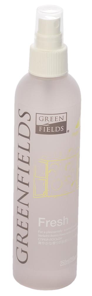 Спрей-лосьон для устранения запаха Greenfields Fresh Лесные ягоды, 250 мл5060016153362Спрей-лосьон Fresh Лесные ягоды Greenfilds для устранения запаха животных, который действует на молекулярном уровне. Создан на основании натуральных компонентов, подаренных самой природой. Гипоаллергенен, не имеет резких запахов. Идеально подходит для устранения запаха в помещении, на тканях, в автомобиле. Придаёт и сохраняет приятный аромат в течение длительного времени, содержит натуральные дезодорирующие компоненты. Подходит для использования как в присутствии животных, так и без. Не оставляет пятнен на тканях и твёрдых поверхностях. Полностью устраняет неприятный запах от животных на молекулярном уровне.