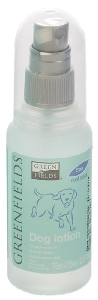 Спрей-лосьон для собак Greenfields Свежесть, 75 мл8718836725227Спрей-лосьон для собак Свежесть Greenfilds для устранения запаха на животном идеально подходит для выставочных и домашних собак! Действует на молекулярном уровне. Создан на основании натуральных компонентов, подаренных самой природой. Гипоаллергенен, не имеет резких запахов. При использовании на шерсти и коже животного устраняет неприятный запах, придаёт и сохраняет приятный аромат в течение длительного времени. Cодержит натуральные дезодорирующие компоненты . Полностью устраняет неприятный запах от животных на молекулярном уровне.