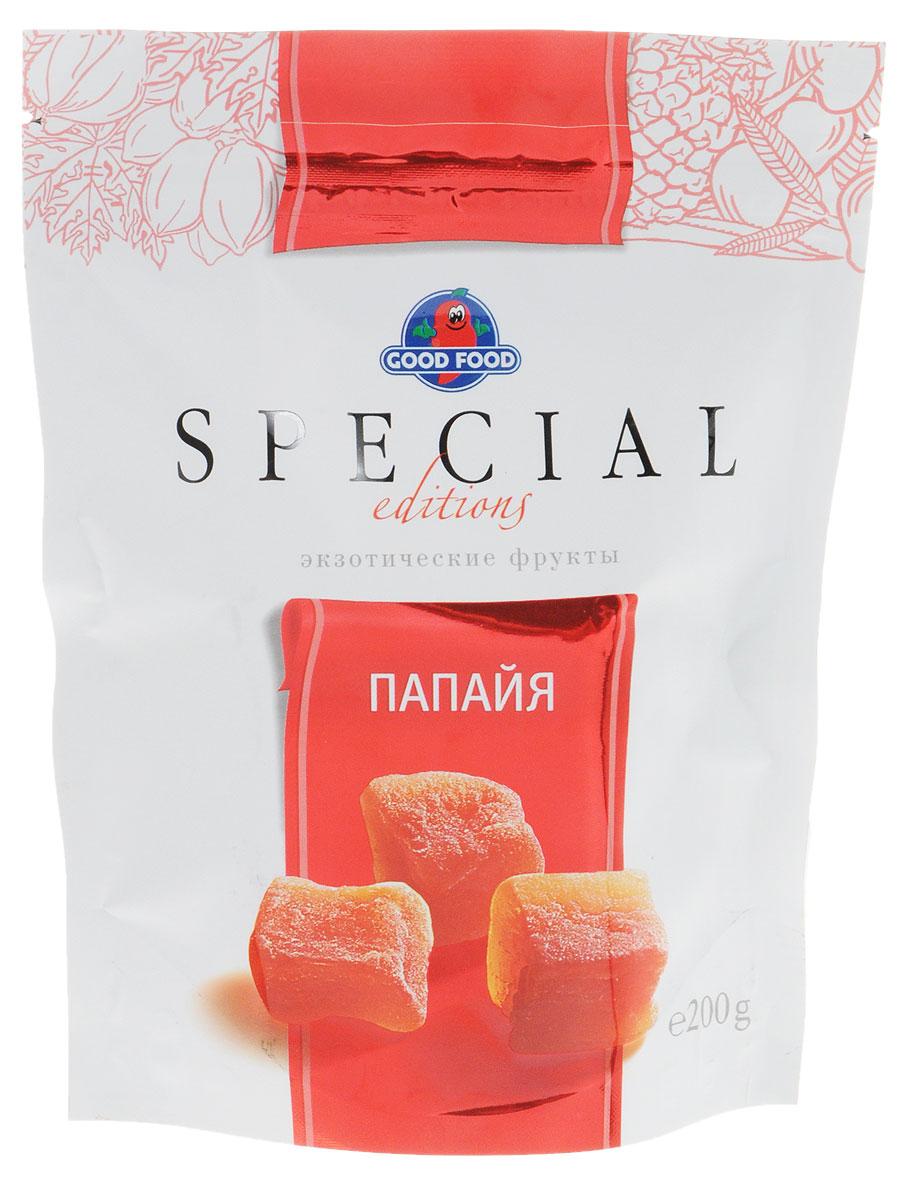 Good Food Special папайя сушеная, 200 г 4620000673262