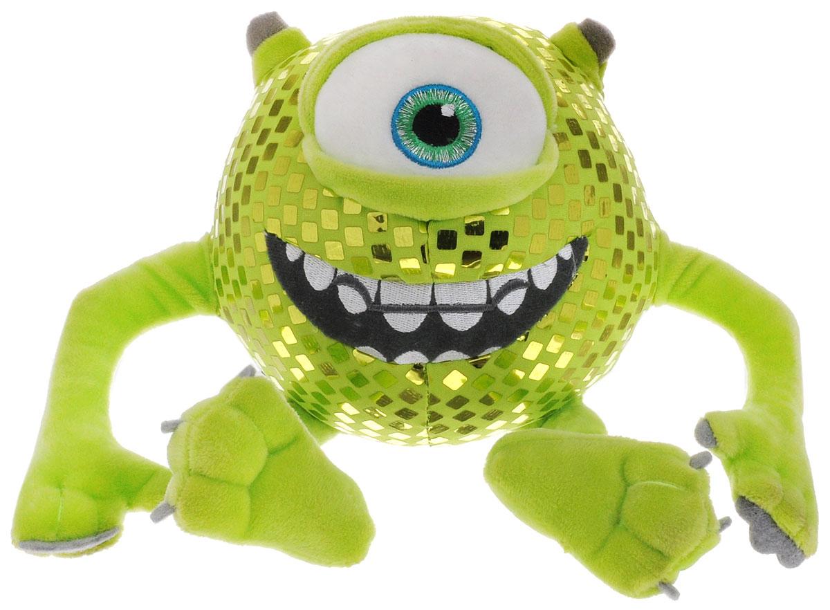 Plush Apple Мягкая озвученная игрушка Монстр Майк 15 смGT7086Мягкая игрушка выполнена в виде одного из главных персонажей мультфильма Университет монстров - Майка Вазовски. Майк Вазовски - это обаятельный и забавный монстр, член студенческой общины OK, которая объединяет всех добродушных, немного неуверенных в себе, но очень милых студентов Университета монстров. Игрушка изготовлена из качественных и безопасных материалов. Майк будет смеяться и вибрировать, если игрушку немного потрясти. Игрушка работает от незаменяемых батареек.