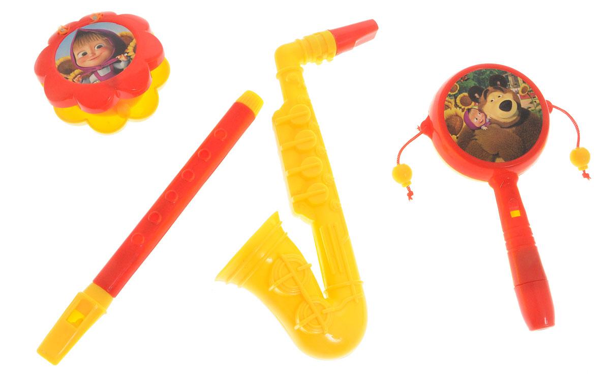 Маша и Медведь Набор музыкальных инструментов Моя Jazz банда 4 предметаGT5844Уже с малых лет у детей может начать проявляться интерес к музыке, но настоящие инструменты малышу давать рано, поэтому лучшим решением в этой ситуации послужат детские музыкальные инструменты. Набор музыкальных инструментов Маша и Медведь Моя Jazz банда привлечет внимание вашего ребенка и позволит ему создать незабываемый концерт. В набор входят четыре вида музыкальных инструментов. Если пригласить друзей, то можно составить небольшой оркестр. Игра на музыкальных инструментах способствует развитию координации движений, ловкости, тактильных ощущений, моторики рук, слуха, прививает с детства любовь к музыке.