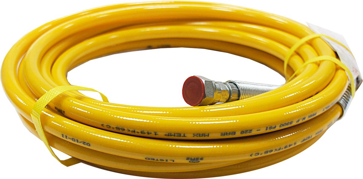 Шланг Wagner МП012549, для электрического краскопульта Project Pro119, цвет: желтый, 15 м295033