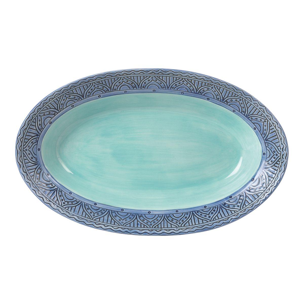 Блюдо овальное Fitz and Floyd Цветочный узор20-632Рекомендуется бережная ручная мойка с использованием безабразивных моющих средств.