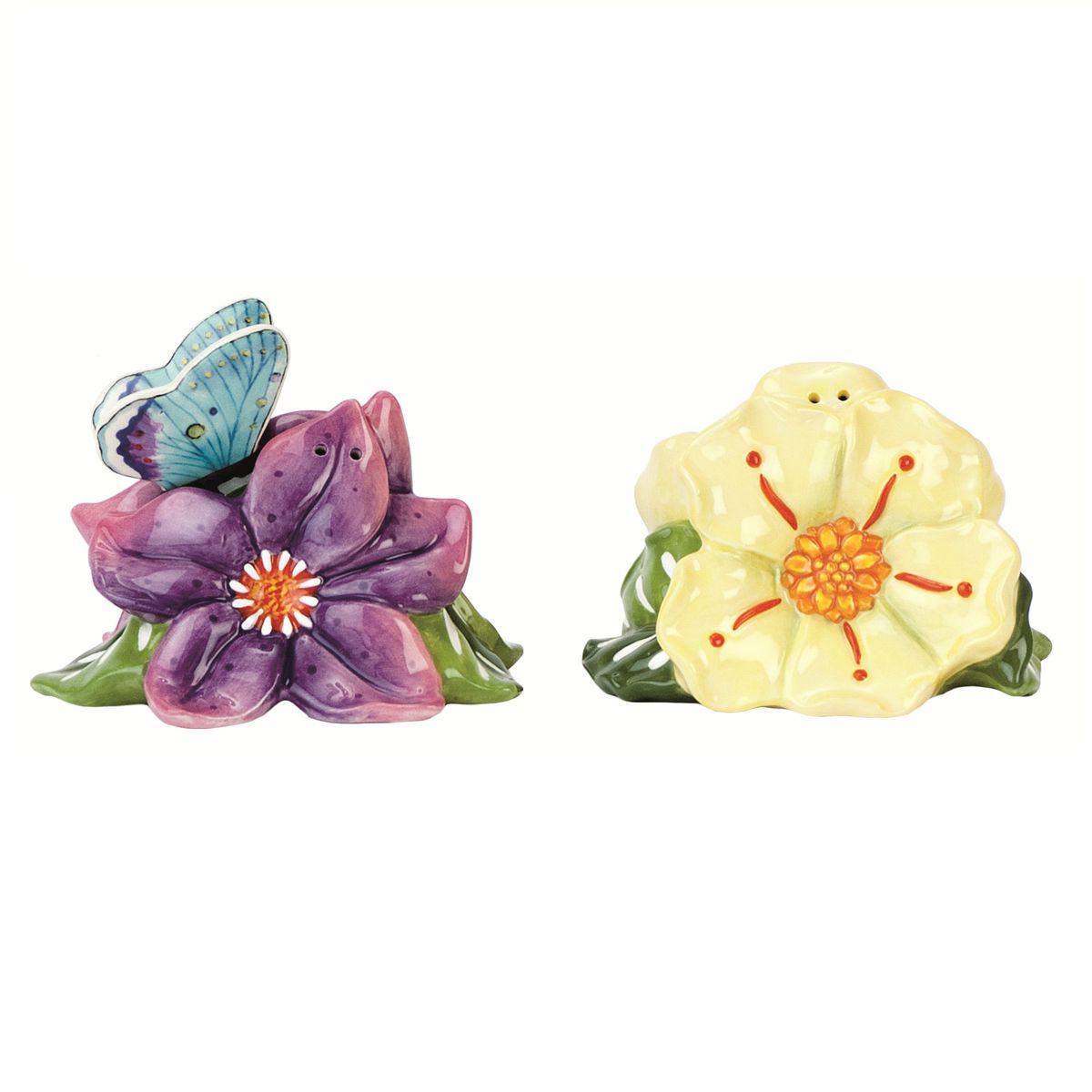 Набор для специй Fitz and Floyd Летний домик. Цветы, 2 предмета29-538Рекомендуется бережная ручная мойка с использованием безабразивных моющих средств.