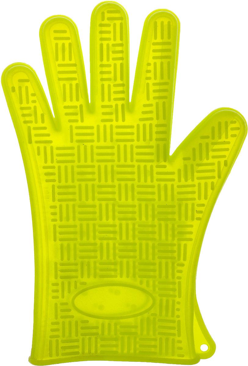Прихватка-перчатка Mayer & Boch, силиконовая, 27,5 х 18 см. 2208222082Прихватка-перчатка Mayer & Boch изготовлена из прочного цветного силикона. Она способна выдерживать температуру от -40°C до +220°С. Эластична, износостойка, влагонепроницаема, легко моется, удобно и прочно сидит на руке. С помощью такой прихватки ваши руки будут защищены от ожогов, когда вы будете ставить в печь или доставать из нее выпечку. Можно мыть в посудомоечной машине.