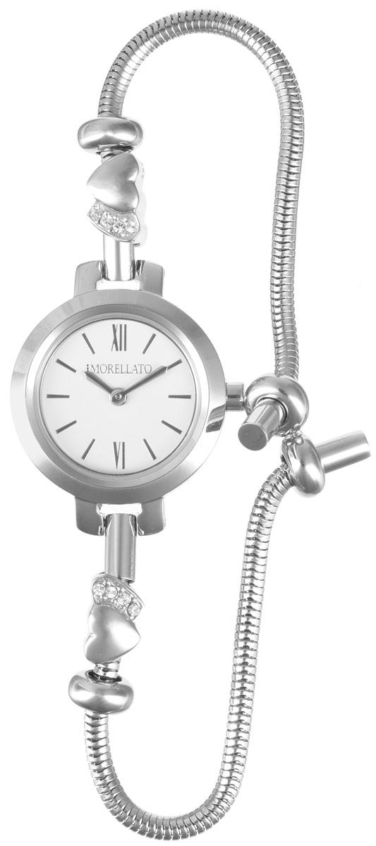 Часы наручные женские Morellato, цвет: серебристый. R0153122551R0153122551Изысканные женские часы Morellato изготовлены из высокотехнологичной гипоаллергенной нержавеющей стали. Ремешок выполнен из нержавеющей стали с PVD-покрытием. Кварцевый механизм имеет степень влагозащиты равную 3 Bar и дополнен часовой и минутной стрелками. Браслет выполнен из соединяющихся между собой элементов в стиле Пандора. Для того чтобы защитить циферблат от повреждений в часах используется высокопрочное минеральное стекло. Браслет затягивается и комплектуется надежным и удобным в использовании замком-шнурком, который позволит с легкостью снимать и надевать часы, менять размер браслета. Часы упакованы в фирменную коробку и дополнительно в подарочную коробку с названием бренда. Часы Morellato подчеркнут изящность женской руки и отменное чувство стиля у их обладательницы.