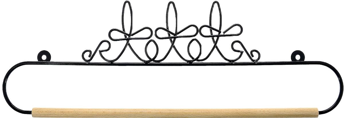 Хангер фигурный Hemline, для панно из квилтинга и вышивки, 35,5 см. ERQH36.14BLKERQH36.14BLKФигурный хангер Hemline предназначен для работы с панно из квилтинга и вышивки. Изделие выполнено из прочного металла и натурального дерева. Чтобы открыть хангер, вытяните конец проволоки из деревянного дюбеля, закрепите панно, вставьте конец проволоки обратно в деревянный дюбель. Закрепите хангер на стене с помощью винтов (в комплект не входят).