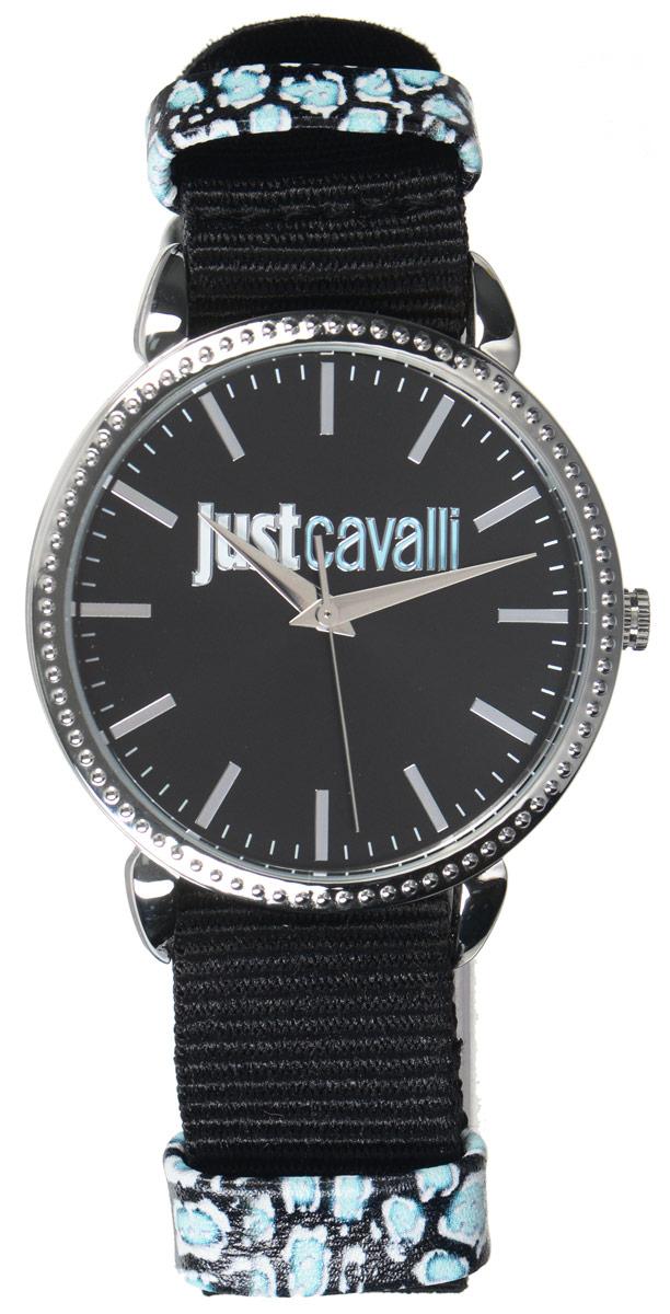 Часы наручные женские Just Cavalli, цвет: черный. R7251528505R7251528505Оригинальные женские часы Just Cavalli произведены из материалов самого высокого качества на базе новейших технологий. Корпус часов выполнен из нержавеющей стали. Циферблат дополнен минеральным стеклом и имеет степень влагозащиты равную 3 atm. Текстильный ремешок имеет практичную пряжку, которая позволит моментально снимать и одевать часы без лишних усилий. Часы поставляются в фирменной упаковке. Наручные часы Just Cavalli созданы для современных девушек, которые не желают потерять свою индивидуальность в городской суете.