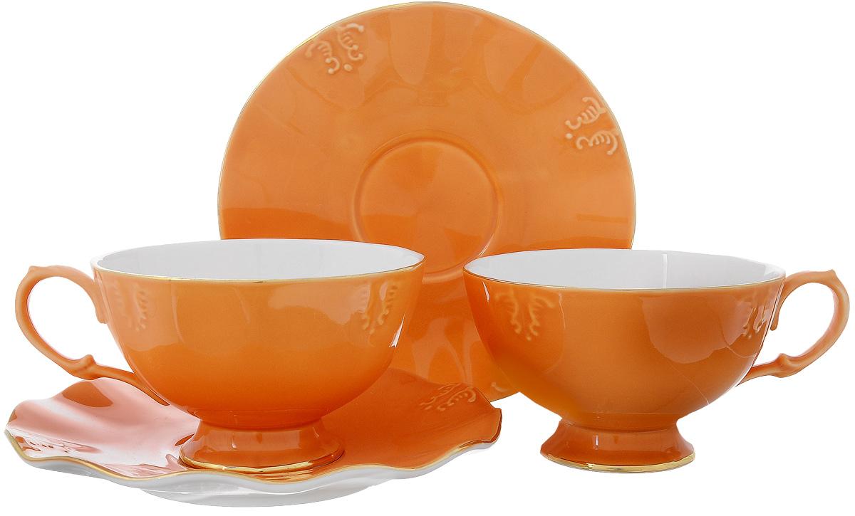 Набор чайный Pavone Грациозо, 4 предмета