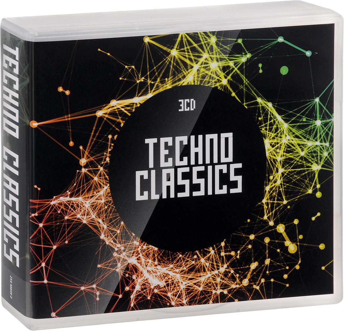 Techno Classics (3 CD) 2016 3 Audio CD