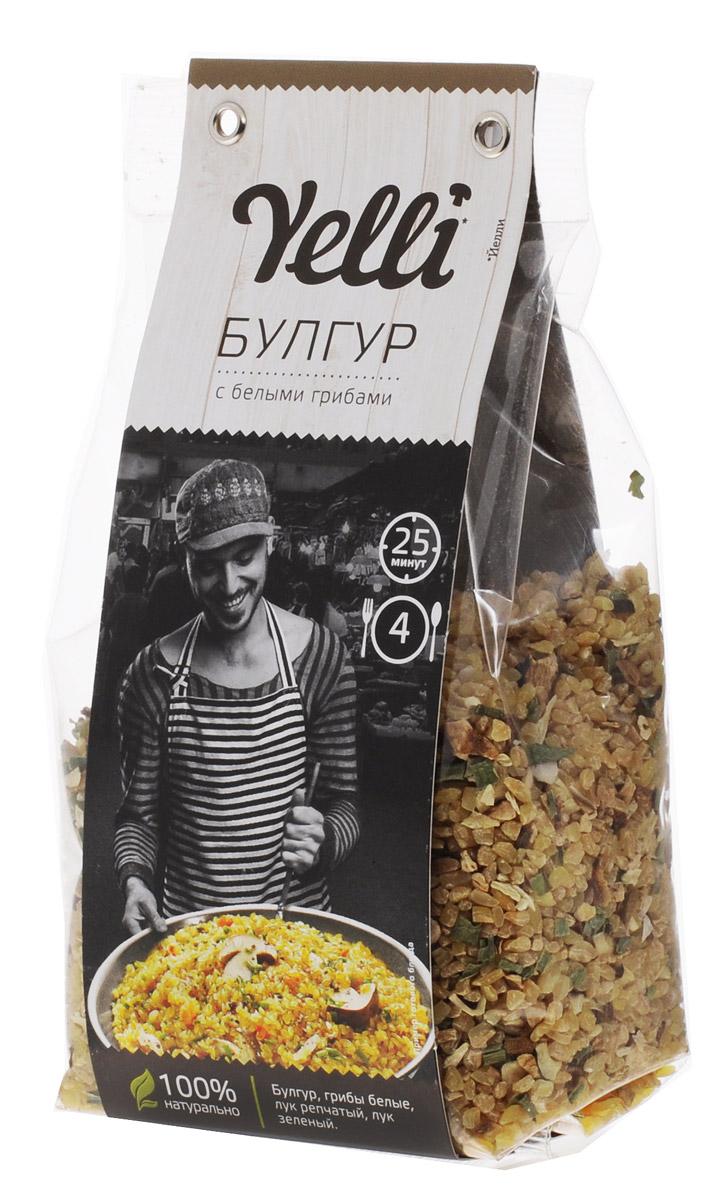 Yelli булгур с белыми грибами, 250 гЕЛ 118/7Булгур – неотъемлемая часть традиционной турецкой и средиземноморской кухни. Это продукт обработки пшеницы, сохраняющий ее полезные свойства и хорошо известный европейским поварам. Благодаря высокой способности впитывать вкусы различных ингредиентов, булгур прекрасно дополняет овощи, мясо или грибы. Булгур с белыми грибами Yelli – ароматное, быстрое и простое в приготовлении блюдо в лучших традициях турецкой кухни.
