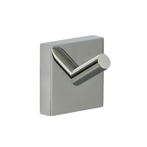 Крючок настенный Iddis Edifice, цвет: хромEDISB10i41Двойной крючок Iddis Edifice предназначен для подвешивания полотенец, халата и многого другого в ванной комнате. Он выполнен из латуни. Хромированное покрытие придает изделию яркий металлический блеск и эстетичный внешний вид. Крепление входит в комплект.