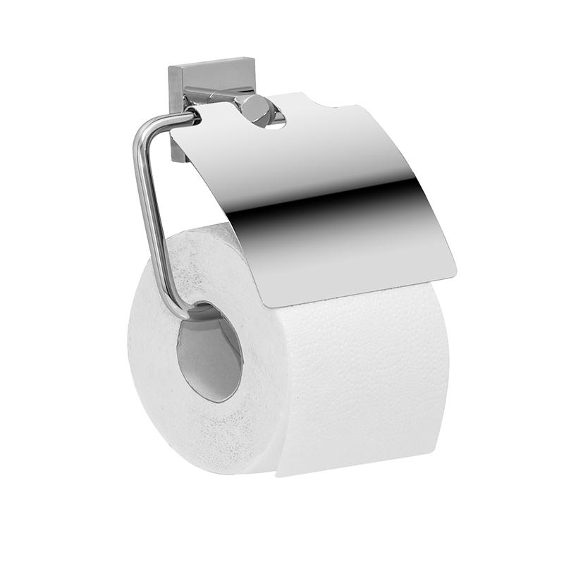 Держатель для туалетной бумаги Iddis Edifice, с крышкой, цвет: хромEDISBC0i43Держатель Iddis Edifice выполнен из высококачественной латуни. Изделие предназначено для удерживания туалетной бумаги. Оно крепится к стене с помощью шурупов. Держатель имеет оригинальный дизайн.