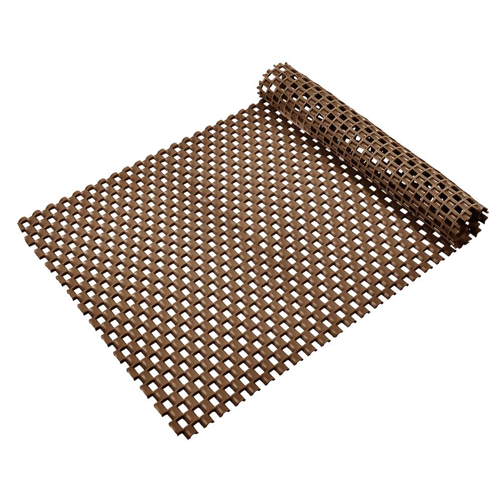Коврик-дорожка Vortex Шашки, противоскользящий, цвет: коричневый, 0,9 х 10 м24073Коврик-дорожка из ПВХ повышенной твердости и износоустойчивости препятствует скольжению, эффективно защищает помещение от влаги и грязи. Легко укладывается на поверхность любой формы и площади. Легко чистится и моется. Подходит для использования в быту и в помещениях с высокой проходимостью.