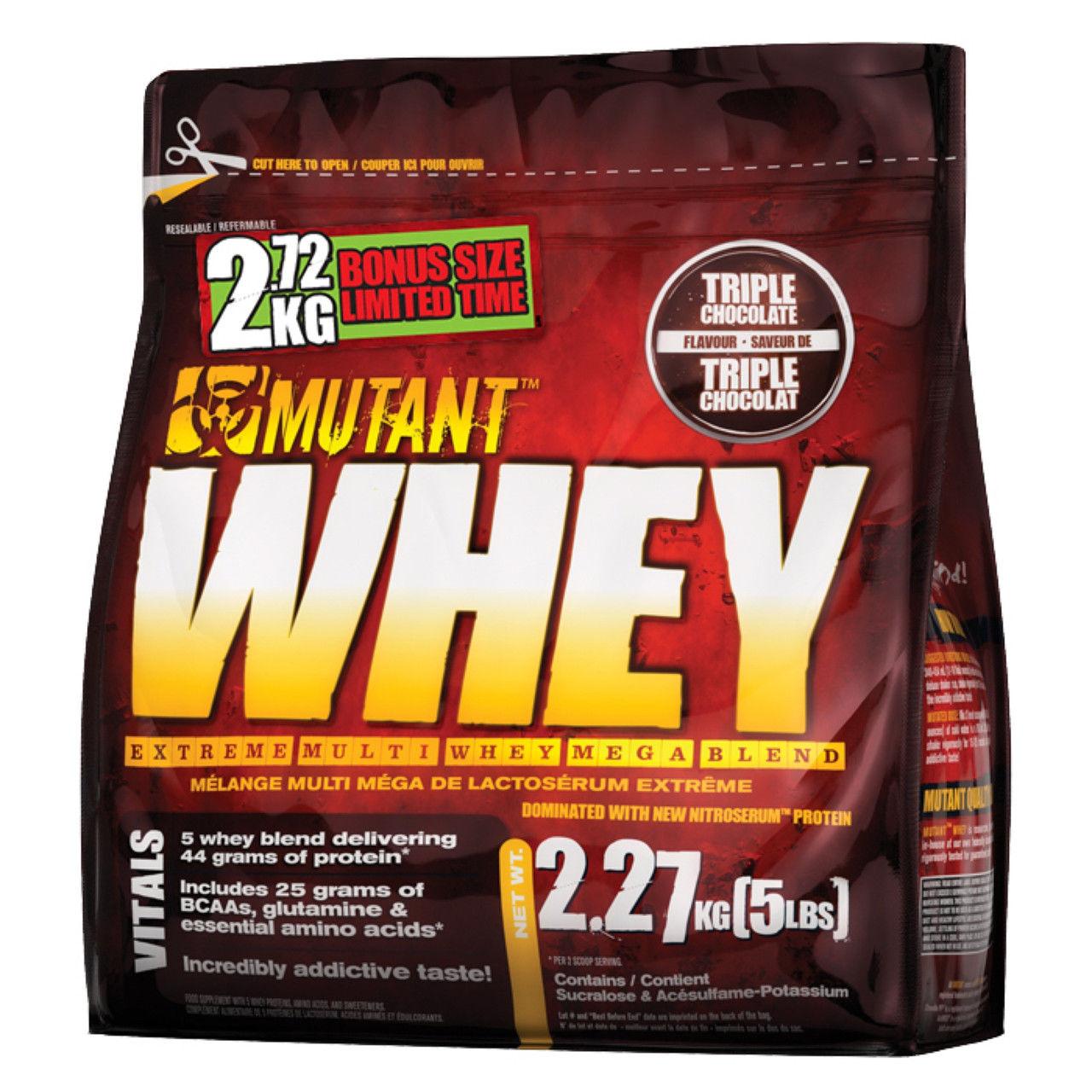 "Протеин Mutant ""Whey"", шоколадный, 2270 г"