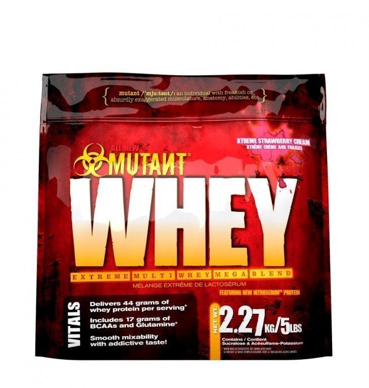 "Протеин Mutant ""Whey"", клубничный, 2270 г"