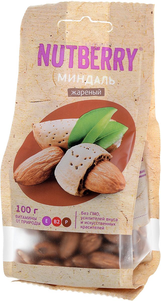 Nutberry миндаль жареный, 100 г4620000677086Миндаль - чудесный орех, который имеет насыщенный, легкий и чуть горьковатый вкус. Польза миндаля: полезен при гипертонии, кроме того миндаль рекомендуют всем лицам, достигшим тридцатилетнего возраста, в качестве профилактического средства от атеросклероза при повышенном уровне холестерина.