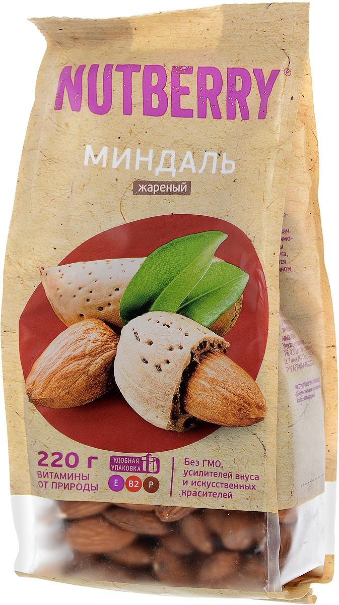 Nutberry миндаль жареный, 220 г4620000676072Миндаль – чудесный орех, который имеет насыщенный, легкий и чуть горьковатый вкус. Польза миндаля: полезен при гипертонии, кроме того миндаль рекомендуют всем лицам, достигшим тридцатилетнего возраста, в качестве профилактического средства от атеросклероза при повышенном уровне холестерина.